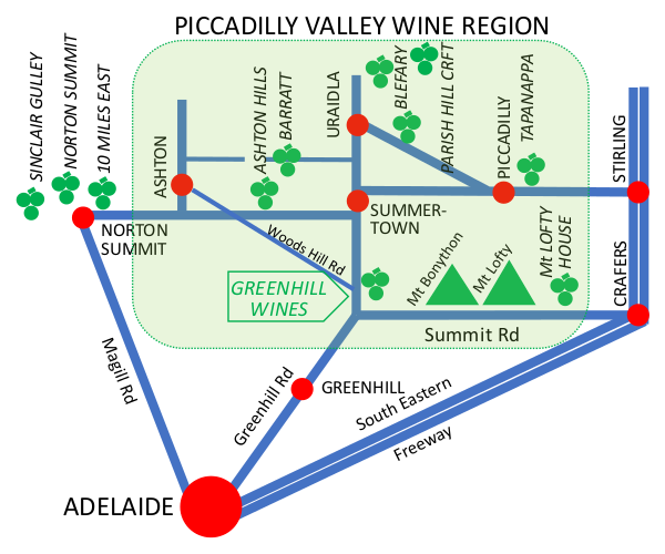 Piccadilly Valley Wine Region